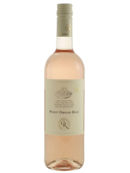 recas winery rose